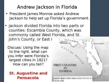 Florida History Gr 4 Territory Government Native American Social Studies SS FL
