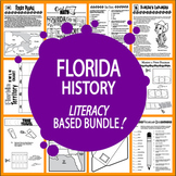 Florida History Bundle – 8 Engaging Literacy-Based Florida State Study Lessons