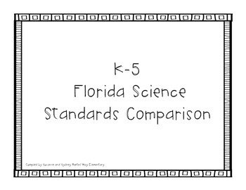Florida K-5 Science and Social Studies Comparison