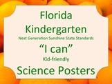 Florida Kindergarten Science Standards NGSSS Orange