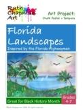 Florida Landscapes Inspired by the Florida Highwaymen Art