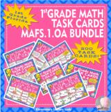 Florida Math MAFS.1.OA #1-8 1st Grade Task Cards BUNDLE - 200 Task Cards