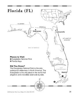 Florida (Map & Facts)
