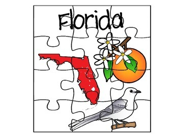 Florida Map Puzzle