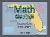 BOGO Florida Math FCAT - 5th Grade Common Core Math Review