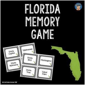 Florida Memory Game