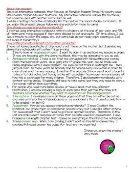 Florida Modern History Interactive Notebook 4th Grade Unit 4