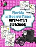 Florida Modern History Interactive Notebook 4th Grade Unit 4