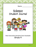 Florida NGSS Science Student Scales Journal Grade 4