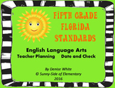 Florida ELA Standards Dated Checklist (NGSSS)