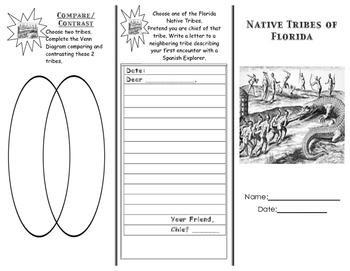 Florida Native Tribes Trifold
