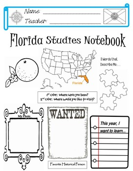 Florida Notebook Cover