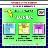 Florida Puzzle BUNDLE - Word Search & Crossword Activities - U.S States - Google
