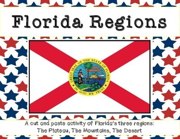 Florida Regions: A cut and paste activity
