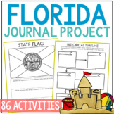 FLORIDA History Project, Differentiated State Research Journal {EDITABLE}