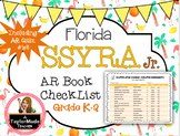 Florida SSYRA Jr. K-2 Accelerated Reader Reading Log {2019-20}