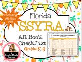 Florida SSYRA Jr. K-2 Accelerated Reader Reading Log {2020-21}