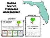 Florida Kindergarten Science Standards