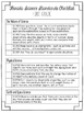 Florida Science Standards Checklist for First Grade