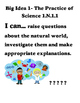 Florida Science Standards I can posters