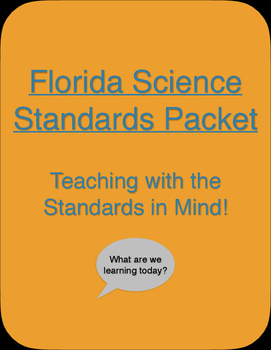 Florida Science Standards Packet