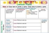 Florida Second Grade Lesson Template with Common Core Drop
