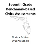 Florida Seventh Grade Civics Practice Test Book