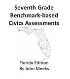 Florida Seventh Grade Civics Practice Test Book