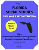 Florida Social Studies: Civil War & Reconstruction