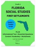 Florida Social Studies: First Settlements