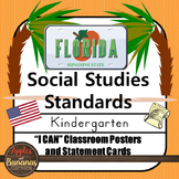 Florida Social Studies - NGSSS Kindergarten Standards Post