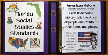 1st Grade Florida Social Studies Standards