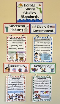 2nd Grade Florida Social Studies Standards By Jason S