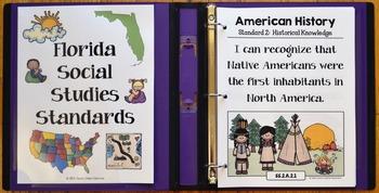 2nd Grade Florida Social Studies Standards