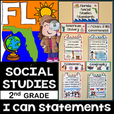 2nd Grade Florida Social Studies Standards {Florida Standards}