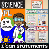 3rd Grade Florida Science Standards - I Can Statements - F