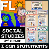 3rd Grade Florida Social Studies Standards {Florida Standards}
