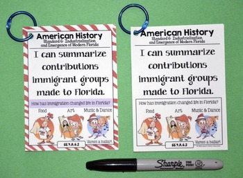 4th Grade Florida Social Studies Standards
