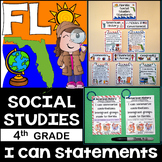 4th Grade Florida Social Studies Standards {Florida Standards}