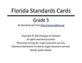 Florida Standards Bulletin Board Cards - Grade 05