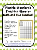 Florida Standards Bundled Tracking Sheets (2nd Grade)- Mar