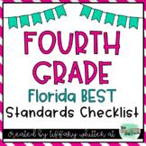 Florida Standards Checklist for 4th Grade