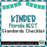 Florida BEST Standards Checklist for Kindergarten