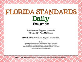 Florida Standards Daily 5th Grade: MAFS.NBT.1.4
