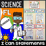 Kindergarten Florida Science Standards - I Can Statements