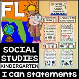 Kindergarten Florida Social Studies Standards {Florida Standards}