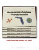 Florida Standards NGSSS Life Science 7th Grade Checklist Layered Flap Book