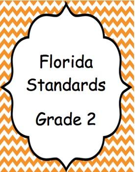 Florida Standards (Orange chevron)- Grade 2