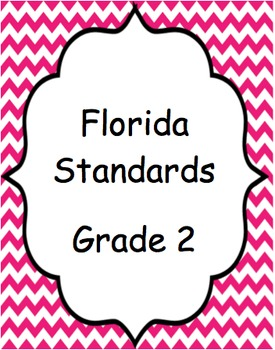 Florida Standards (Pink chevron)- Grade 2