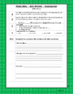 Florida Standards Reading Informational Text Student Scales Journal
